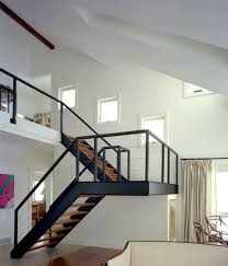 U Stairs Design Colors For Living Room Steel Staircase Design U Shaped