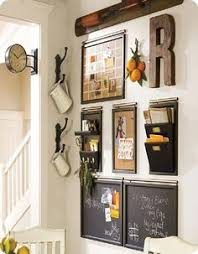 Kitchen Wall Organization Ideas 10 Stylish Family Schedule And Command Center Ideas Vignettes