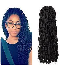 soft dred hair african braiding kanekalon goddess locs soft dread locks faux locs