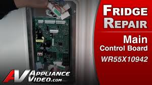 refrigerator repair u0026 diagnostic main control board ge hotpoint
