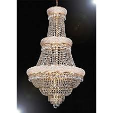 Chandeliers For Foyer French Empire Crystal Chandelier Chandeliers H50