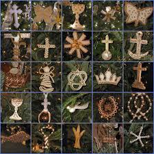 abt unk advent calendar religion chrismons and trees