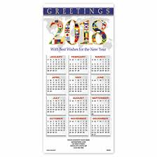 2018 wishes calendar cards deluxe