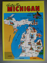 Frankenmuth Michigan Map by Faith In Postcards Please Vote Poll Of Michigan Map Cards