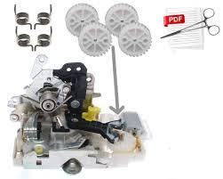 mercedes ml gl glk gls w164 x164 door lock repair set kit for 4