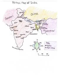 Physical Map Of India by Ljhsdpowell Frontpage