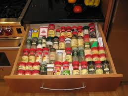In Drawer Spice Racks 20 Clever Kitchen Spices Organization Ideas