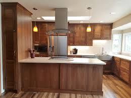 mid century modern walnut kitchen cabinets walnut mid century modern kitchen loraindesign