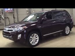 toyota highlander hybrid 2012 2012 toyota highlander hybrid review