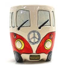 volkswagen van cartoon vw bus yosemite mug yosemite online store official online store