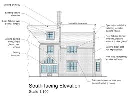 Dormer Extension Plans First Floor Extension New Bay Window And Alterations To House In