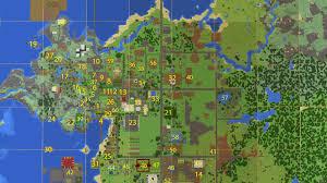 Online World Map by Minecraft Realm Map Skycaptin5lol