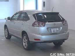 harrier lexus 2007 2006 toyota harrier silver for sale stock no 56729 japanese