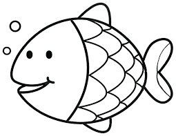 rainbow fish template to color kids coloring pages articles with
