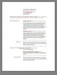 Free Sample Resume Templates by Cv Templates Microsoft Word Free