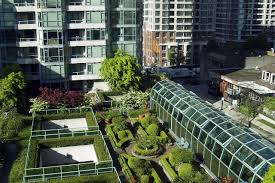 Benefits Of Urban Gardening - urban rooftop gardening in high rise buildings nourish the planet