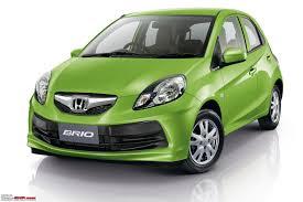 honda small car honda brio small car for india unveiled update scoop pics pg