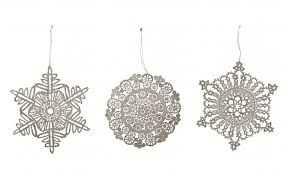 snowflake ornaments jayson home