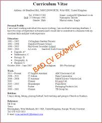 Examples On How To Make A Resume by 16 How To Make A Cv For First Job Basic Job Appication Letter