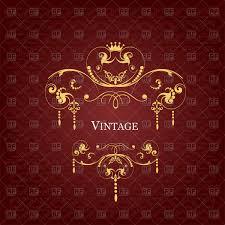 black vintage chandelier silhouette vector clipart image 23925