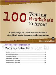 100 writing mistakes 1 pdf grammatical number plural