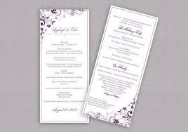 Tea Length Wedding Program Diy Wedding Program Download Instantly Editable Text Chic