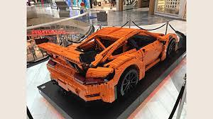 lego porsche porsche 911 gt3 rs brings lego kit to life drivers magazine