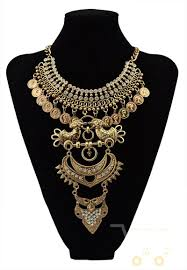 big crystal statement necklace images Multi layer necklace gold crystal owl bird big statement necklaces jpg