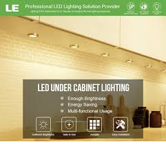 warm white under cabinet lighting pack of 6 units led under cabinet lighting kit 1020lm puck