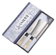 cheap kitchen knives set shimomura brand 2pcs japanese chefs kitchen knife set hocho su55