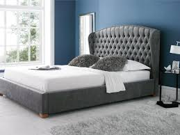 bedroom upholstered tufted headboards fabric covered headboard