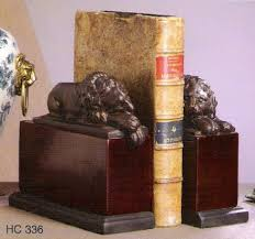 lion bookends hc336 sleeping lion bookends