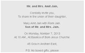 sle indian wedding invitations indian wedding invitation wordings for s marriage