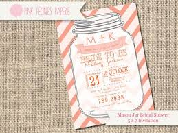 jar bridal shower invitations jar bridal shower invites kawaiitheo