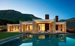 single story modern house plans single story modern house plans