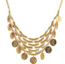 necklace trendy images Trendy vintage gold coin plate bib necklace wholesale yiwuproducts jpg