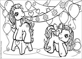 my little pony birthday coloring page my little pony birthday coloring pages get coloring pages