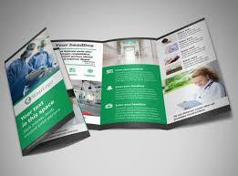 fold brochure template center brochure template mycreativeshop