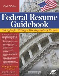 Federal Resume Writer Federal Resume Guidebook Strategies For Writing A Winning Federal
