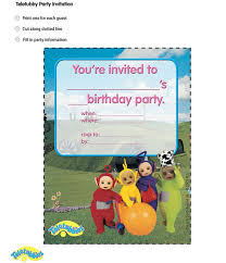 61 teletubbie printables images birthday party
