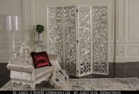 hand carved silver 3 panel folder wooden screen room divider buy