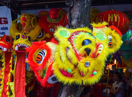 new year lion costume lion costume used during new year celebration