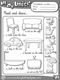 place prepositions worksheet 1 b u0026w version funtastic english