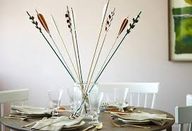 Table Decorations With Feathers Handmade Decorative Arrows U2014 One Kings Lane