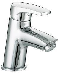 bristan orta basin mixer with clicker waste bath flow p c harris ltd