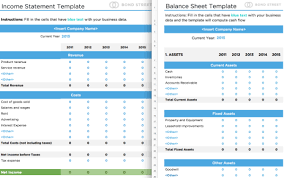 Template For Balance Sheet And Income Statement Balance Sheets And Income Statements Templates Alignable