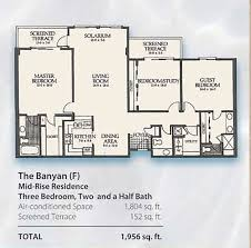 Half Bath Floor Plans The 5 Story Mid Rise Floor Plans Arbor Trace