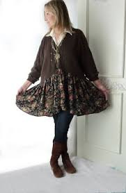 plus size wool sweater with skirt brown cardigan upcycled платье