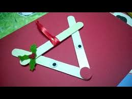 Reindeer Christmas Decorations Make by Diy Christmas Ornaments Reindeer Christmas Using Popsicle Stick