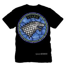 ebay stained glass ls game of thrones men s black stained glass stark symbol t shirt large